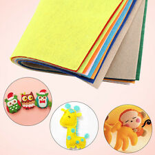 10 Pcs 30x20cm MultiColor Non-woven Felt Square Fabric Home DIY Crafts Hot