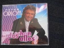 Maxi-CD  PETER ORLOFF  War das schon alles?  Neuwertige CD  Picture Disk