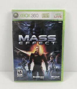 Mass Effect Xbox 360 first edition black label new and sealed