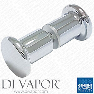 Shower Door Knobs Handle   Solid Copper   Chrome Plated - 30mm x 65mm