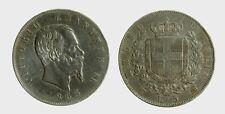 s536_26) Vittorio Emanuele II Re d'Italia (1861-1878) - 5 Lire 1865 Torino Rara
