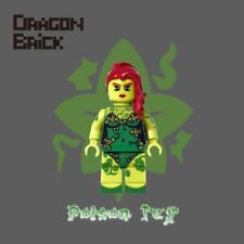**Pre-order** DRAGON BRICK Custom Poison Ivy Lego Minifigure, In stock on 11/30