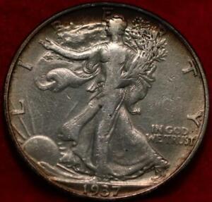 1937-D Denver Mint Silver Walking Liberty Half