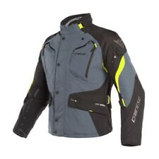 Giacca Gore-Tex Dainese Dolomiti Avorio Nero Giallo Fluo taglia 48 jacket