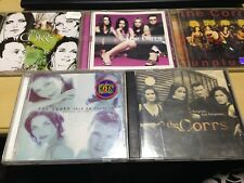 THE CORRS 5-DISC LOT: HOME + IN BLUE + UNPLUGGED + TALK ON CORNERS + FORGIVEN...