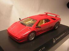 1/43 LAMBORGHINI  DIABLO S rouge detailcars detail cars