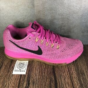 Nike Air Zoom All Out Women's 878671-600 Pink Trainer Running Shoes Size 9