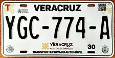 VERACRUZ MEXICO License plate Expired Graphic Background MAKES ME PROUD !!!