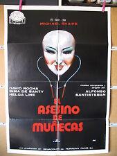 A2486  EL ASESINO DE MUÑECAS. DAVID ROCHA, INMA DE SANTY, HELGA LINE