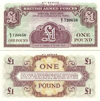 UK / GREAT BRITAIN, 1 POUND, British Armed Forces, 1962, UNC