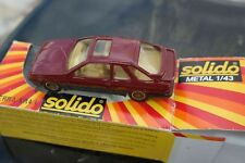 SOLIDO n° 1340 FORD SIERRA  XR4 i. Toit ouvrant. Boîte