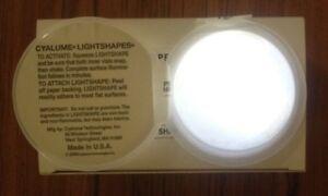 20 x British Army White Cyalume Chemlight Glow Lights Adhere To Most Surfaces