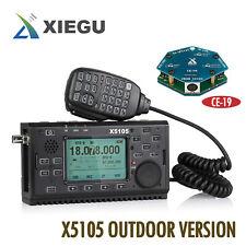 Xiegu X5105 HF Transceiver outdoor 0.5-30/50-5 MHz 5W SSB CW AM FM RTTY PSK