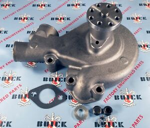 1936-1949 Buick Straight 8 Water Pump with Gasket   Oem #1393739