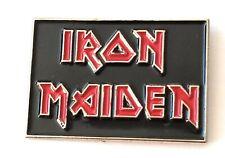 IRON MAIDEN enamel pin badge biker heavy metal rock