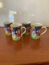 4 Sango Cafe Paris Coffee Or Tea Mugs # 4914