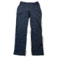 Duluth Trading Womens 4x29 Coal Gray Breezeshooter Slim Leg Convertible Pants