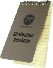 "Coyote Brown All Weather Waterproof Notebook 3"" x 5"""