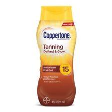 Coppertone large spectre SPF 15 Lotion de bronzage Crème solaire 8 fl oz