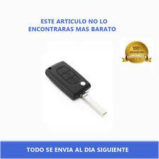 Carcasa Llave Mando de 3 Botones Faro CE0523 HU83 para Citroen C2 C3 C4 C5 C6 C8