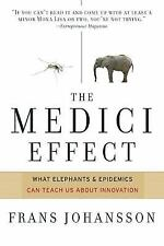 The Medici Effect Breakthrough Insights at the Intersection of Ideas Concepts HC