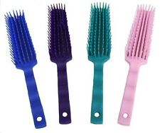 Horse Grooming TEAL Detangling Brush by Showman!! NEW TACK!!