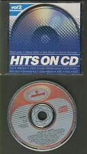 HITS ON CD 1984 CD WEST GERMANY ATOMIC LOGO Dire Straits Genesis Steve Miller
