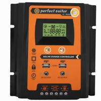30A Solarregler-Laderegler PMW 12V/24V Auto USB Dual USB LCD Solarregler DE