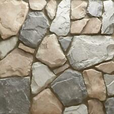 10 sq. ft. Field Stone Gainsboro Flats Handy Pack Manufactured Stone Siding Gray