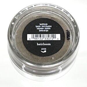 BareMinerals HEIRLOOM Shimmering Gray Grey Eyecolor Eye Shadow FS .57g/.02oz