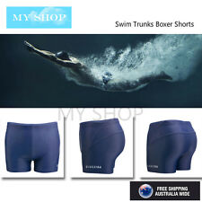 Man's Black Swimming Trunks, Swim Boxer Shorts Racing Pant --L