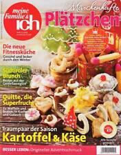 * meine Familie & ich  12 / 2015 Weihnachten Advent Märchenhafte Plätzchen TOP !