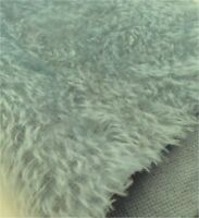 Silver 12mm hand dyed mohair - perfect for smaller ted