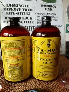 YA-MON WOODROOT TONIC JAMAICAN CONNECTION FOR HEALING AND STRENGTHEN ORGANS