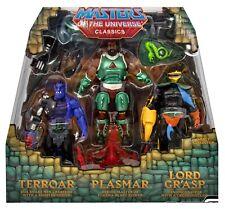 POWERCON EXCLUSIVE MASTERS OF THE UNIVERSE TERROAR PLASMAR GRASP CLASSICS HE MAN