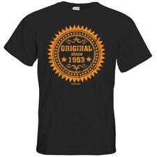 Vintage L Herren-T-Shirts mit Rundhals-Ausschnitt