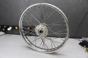 Compatible with Honda CB200 CB200T 1975-1976 Rising Sun Silver Aluminum Rim Set