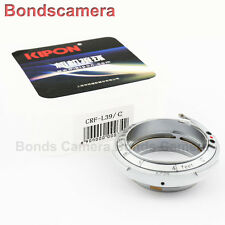 Kipon Contax Rangefinder mount CRF RF Lens to Leica M39 L39 LTM screw adapter