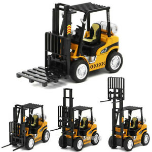1:24 Scale Replica Forklift Truck Diecast Model Car Toy Sound&Light Pull Back