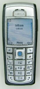 Nokia 6230i RM-72 - Black Unlocked Used Cellular Phone