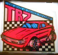 REAL VINTAGE MAZDA TR7 T-SHIRT IRON-ON HOT ROD LOW RIDER STREET RACING TRANSFER