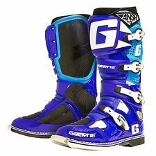 Gaerne Answer SG 12 Blue Cyan Boots Size UK Size 10 Euro 44.5 Quad ATV MotoX MX