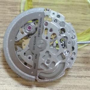 Mechanical Watches Japan 21 Jewels Miyota 8N24 Automatic Movement