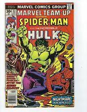 Marvel Team-Up # 53 Spider-Man and Incredible Hulk VG/FN 1st John Byrne