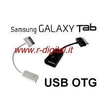 CAVO GALAXY TAB USB FEMMINA SAMSUNG TABLET P3100 P5100 5110 3100 ADATTATORE OTG