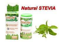 SWEETLY NATURAL STEVIA TABLETS 200-500 SWEETENER DISPENSER WEIGHT LOSS