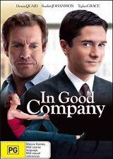 In Good Company (Dennis QUAID Scarlett JOHANSSON Topher GRACE) DVD NEW Region 4