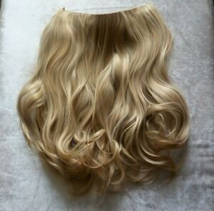 Hair Extensions Layered Thick Full Head One Piece With Wire Blonde Balayage