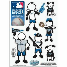 Toronto Blue Jays Family Decals 6 Pack (NEW) Auto Car Stickers Emblems MLB