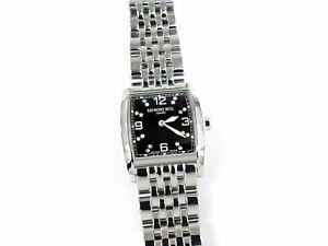 Raymond Weil Don Giovanni Black Rectangular Dial with Diamonds 5976-ST-05227